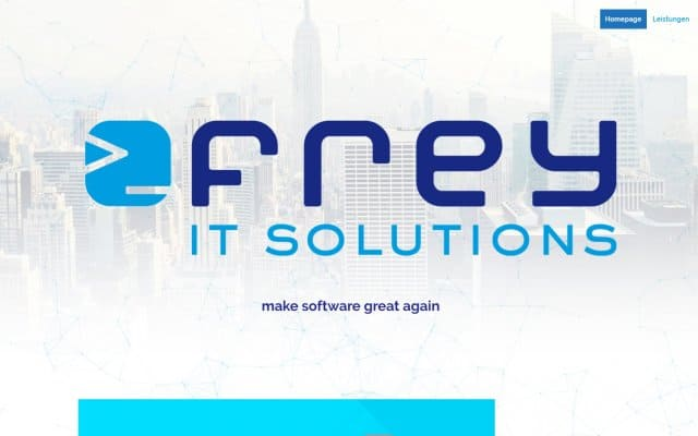 Webdesign Herford Frey IT Solutions
