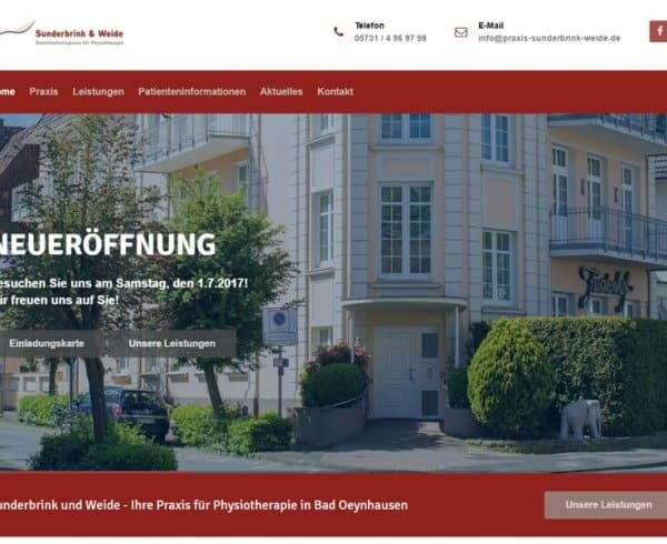 Webdesign Bad Oeynhausen